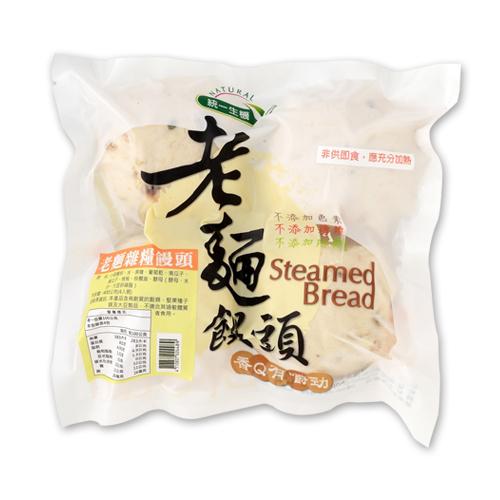 老麵雜糧饅頭(4入)-統一生機