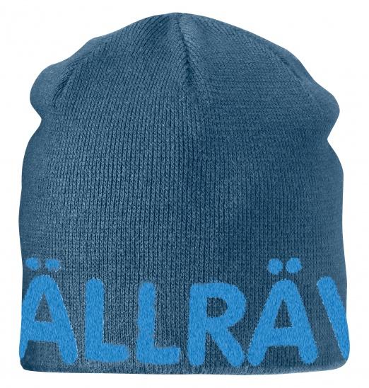 【鄉野情戶外專業】 Fjallraven |瑞典| Are Beanie 小狐狸保暖帽/毛線帽 針織帽 滑雪帽-大叔藍/77262
