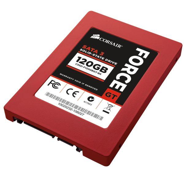 *╯新風尚潮流╭*海盜船 Force GT 120G SATA3 6Gb每秒 SSD 固態硬碟 CSSD-F120GBGT-BK