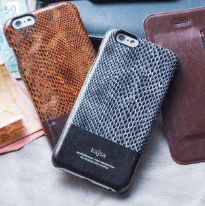 蘋果 iPhone 6 plus 5.5吋 保護套 kajsa凱莎蛇紋真皮系列 單蓋 Apple iphone6 plus真皮保護殼【預購】
