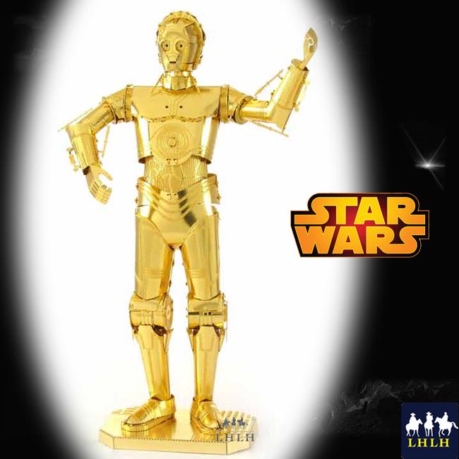 Star wars 星際大戰 聖誕禮物 金屬模型 【現貨】 C-3PO 金