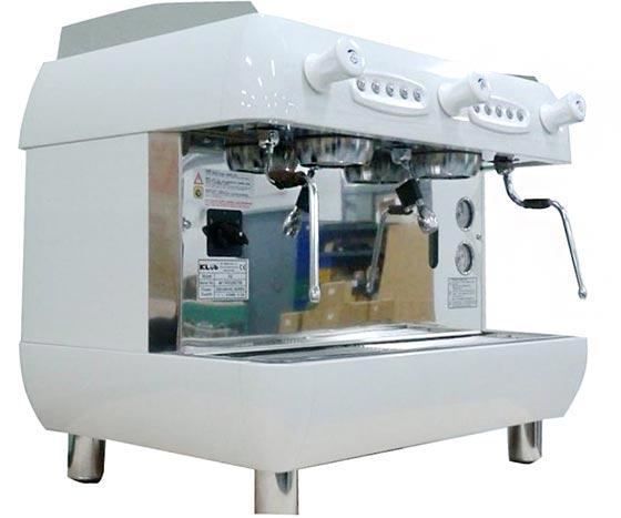 租購半自動咖啡機 KLUB RF2 雙孔營業用咖啡機+磨豆機 (每個月租購只要3600元)--【咖啡簡餐店適用的咖啡機】