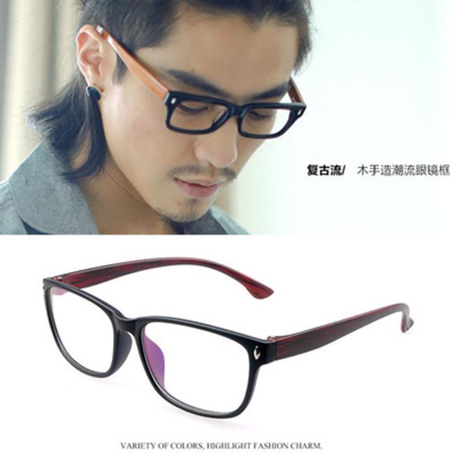 50%OFF【J020092GLS】復古仿木眼鏡框潮流眼鏡架批發綠町眼鏡廠家眼鏡批發