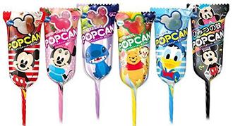 免運★【脆思比】★日本固力果迪士尼棒棒糖多種口味 可愛熱銷★整盒30支 米奇造型 ★同樂會★送禮