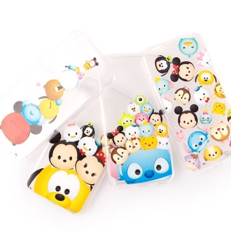【Disney 】iPhone 6 plus TSUM TSUM可愛透明保護軟套