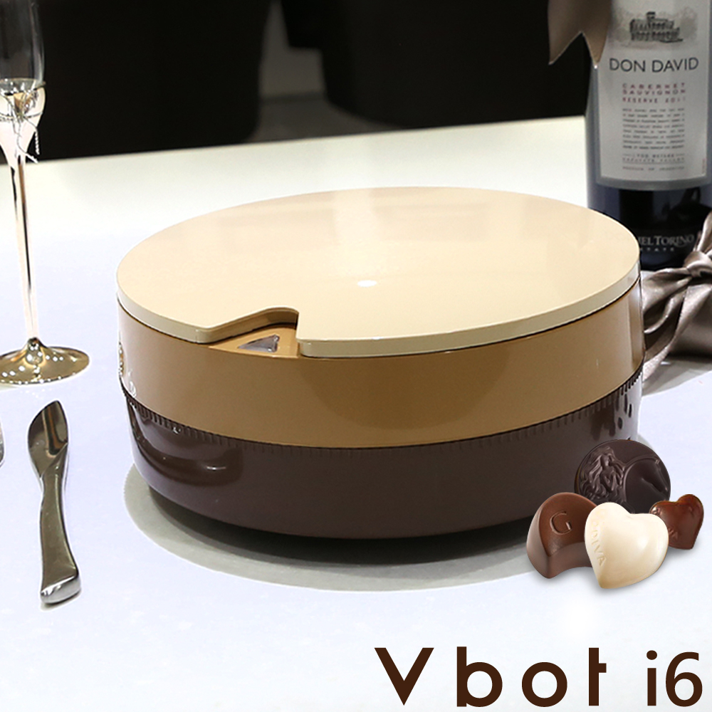 Vbot 二代i6蛋糕機器人 超級鋰電池智慧掃地機(極浄濾網型)(巧克力)