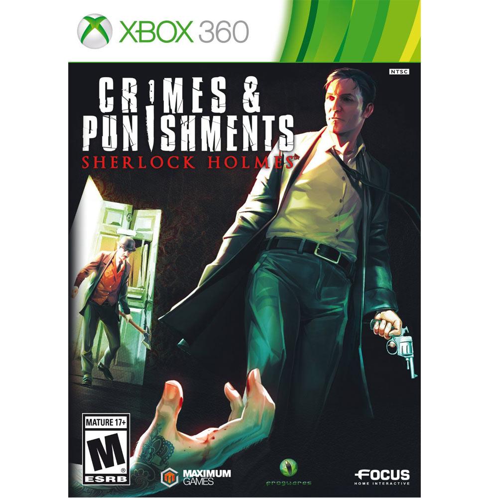 XBOX360 福爾摩斯 罪與罰 XBOX ONESHERLOCK HOLMES CRIMES&PUNISHMENTS