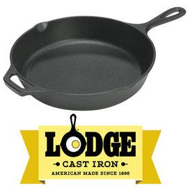 【鄉野情戶外用品店】 Lodge |美國| 鑄鐵平底鍋/煎鍋 荷蘭鍋 鑄鐵鍋/L8SK3 《10.25吋》