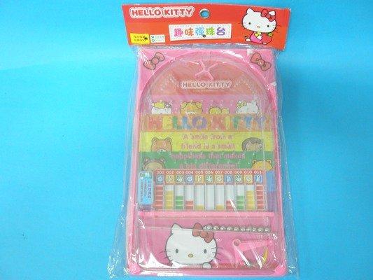 Hello Kitty凱蒂貓彈珠檯 KT趣味彈珠台 小鋼珠檯童玩(中)~正版授權/一個入{促169}
