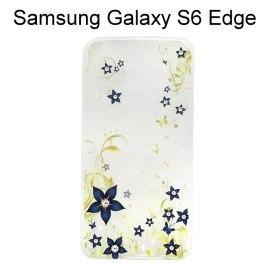 施華洛世奇彩鑽透明軟殼 [荊棘花] Samsung G9250 Galaxy S6 Edge