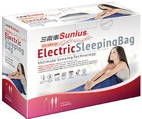 三樂事輕巧睡袋電熱毯 (SP2403BL)台灣製造~