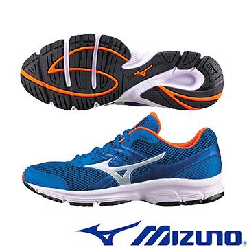 K1GR160302(藍X銀)基本入門型鞋款 MIZUNO SPARK 男慢跑鞋 Q【美津濃MIZUNO】