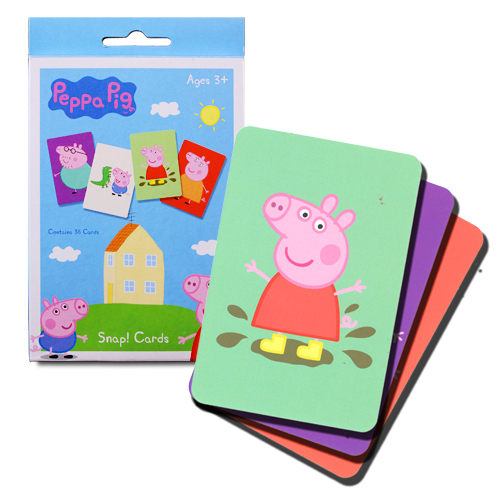 【粉紅豬小妹】紙牌遊戲組 PE03838