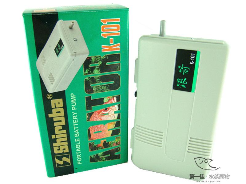 [第一佳水族寵物] 台灣銀箭Shiruba 乾電池打氣馬達/打氣機/空氣幫浦 (單孔打氣.附配件) [K-101]