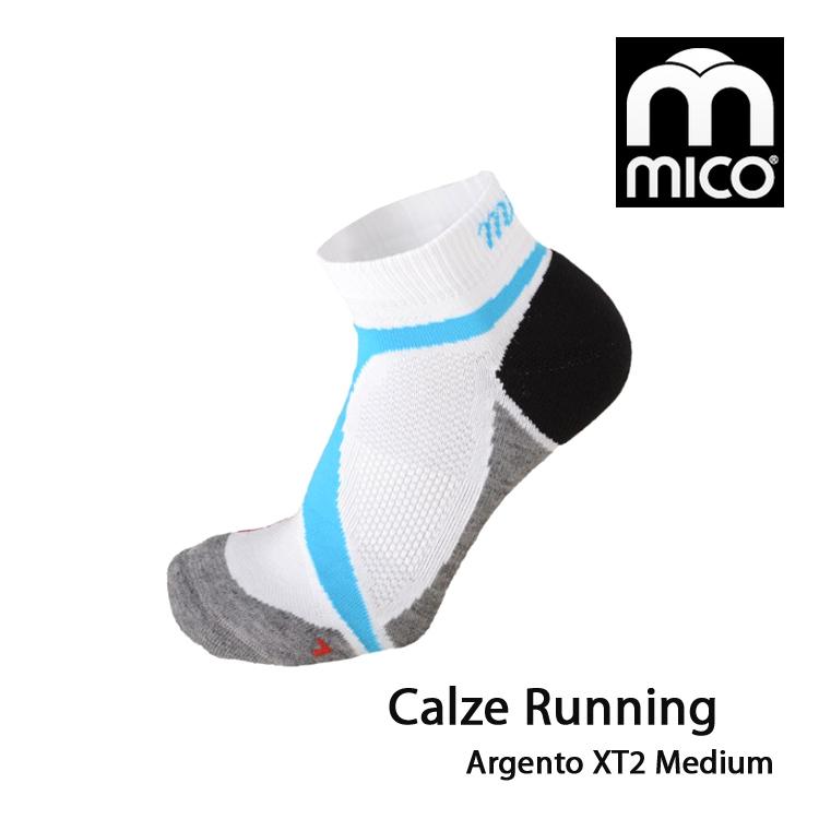 MICO 銀纖維越野慢跑襪1606/城市綠洲(義大利、萊卡、抗臭、舒適柔軟)