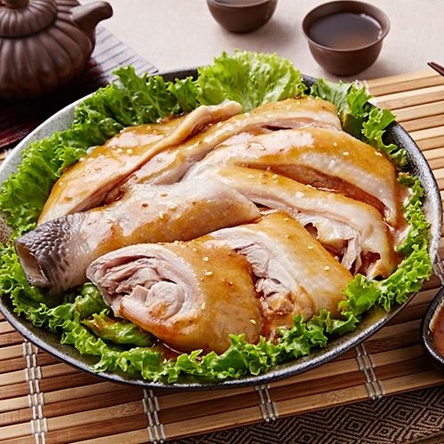 元進莊-極品川味油雞腿(口水雞)350g