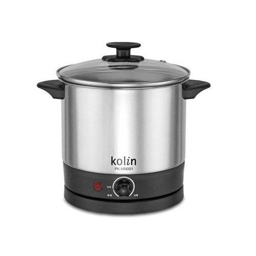 《省您錢購物網》福利品~【歌林Kolin】1.5公升不鏽鋼美食鍋(PK-MN001)