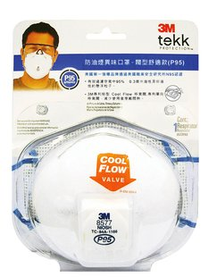 【safetylite安心生活館】《滿額免運.贈禮.加line折百》3M™ TEKK Protection™ 防異味及防油煙口罩 - 閥型舒適款