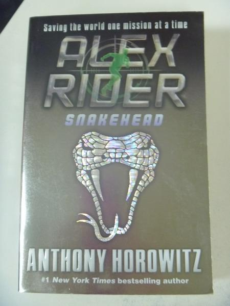 【書寶二手書T4/原文小說_IBH】Snakehead: An Alex Rider Adventure_Horowit