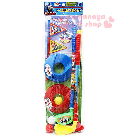 〔小禮堂嬰幼館〕湯瑪士小火車 高爾夫球組玩具《紅黃藍綠.袋裝》
