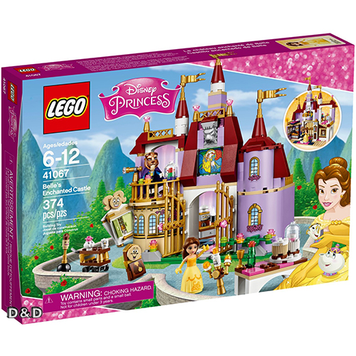 樂高積木LEGO《 LT41067 》Disney Princess 迪士尼公主系列 - Belles Enchanted Castle