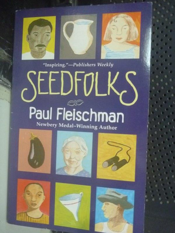 【書寶二手書T6/原文小說_IPV】Seedfolks_Paul Fleischman