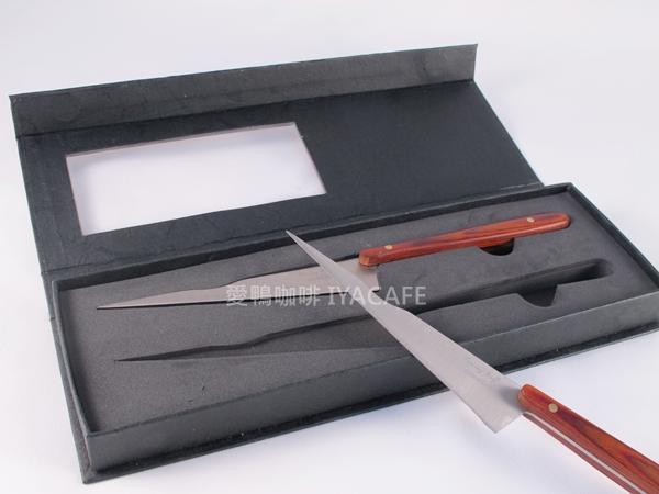《愛鴨咖啡》Tommy Boy 德國 原裝製 雕刻刀 吧檯刀 蔬果刀 水果刀 2入/組
