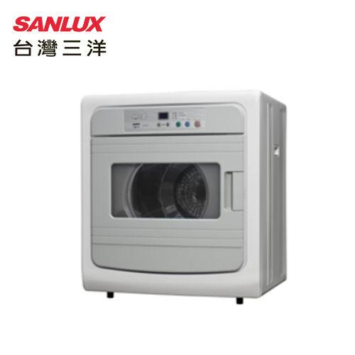 SANLUX 台灣三洋 SD-86U/SD-86U8 乾衣機 7.5kg電子式乾衣機 台灣製 節能標章 安全強化玻璃拉門