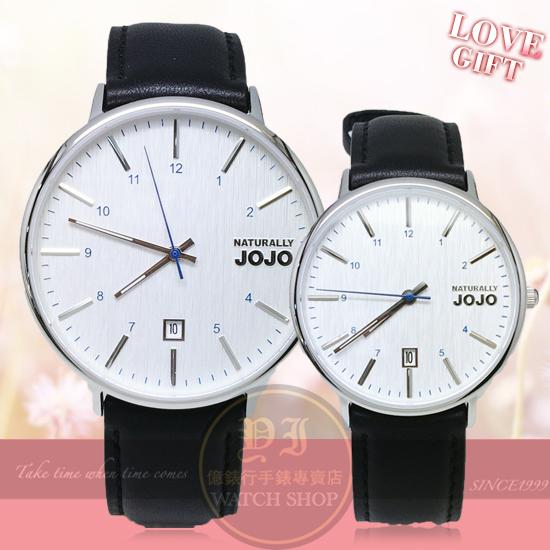 NATURALLY JOJO薄型簡約情人對錶/42mm/36mm/JO96898-80M/JO96898-80F原廠公司貨