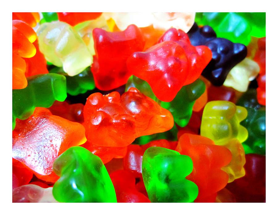 年貨大街 ‧散糖軟糖區‧ 泰迪熊造型 小熊QQ軟糖 300g(半斤)【合迷雅好物超級商城】