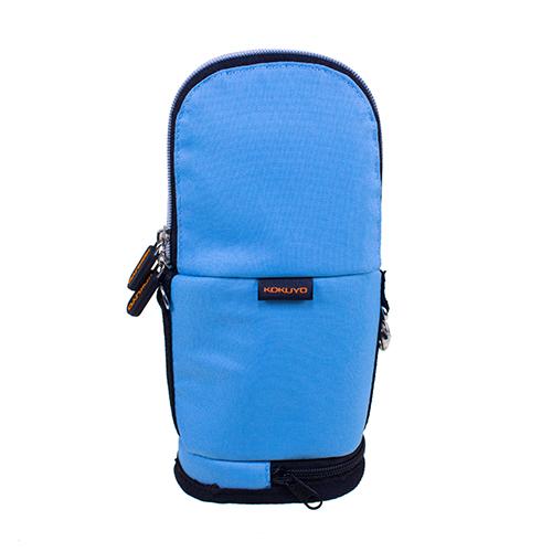 【KOKUYO】  critz多功能直立式筆袋-大(水藍色) PC009-LB