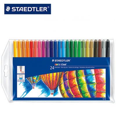 施德樓 MS325WP24 快樂學園水易洗彩色筆24色 / 組