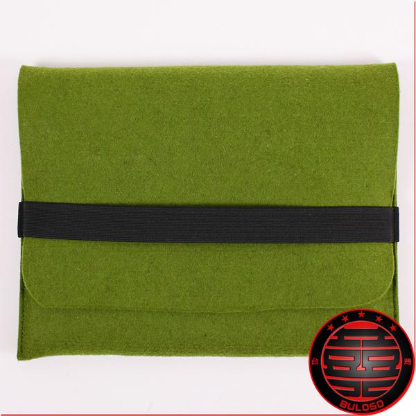 《不囉唆》綠色環保毛毯10吋筆電包 iPad/筆電/保護/環保/毛毯(不挑色/款)【A202503】