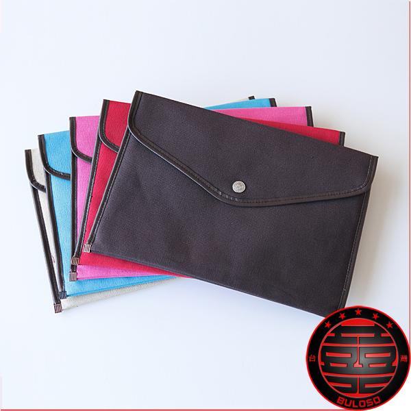 《不囉唆》韓國簡約 5色A4帆布公文包 資料袋 資料袋 檔案袋(不挑色/款)【A207447】