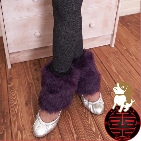 《不囉唆》13CM毛毛靴套 束口/毛皮草/短靴/靴套(不挑色/款)【Y208369】