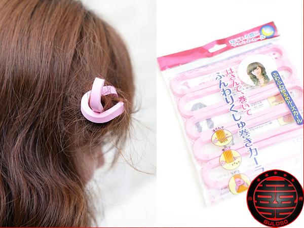 《不囉唆》一套5入第二代睡美人捲髮條 海綿/捲髮棒/大波浪/捲髮(不挑色/款)【Y217347】