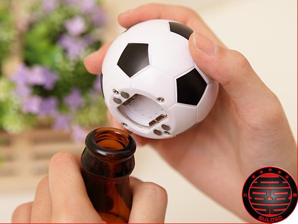 《不囉唆》【A221122】(不挑款) 3款球類音樂磁鐵開瓶器 音樂開瓶器 網球/足球/高爾夫球