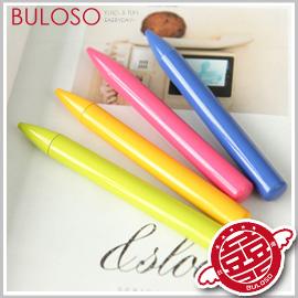 《不囉唆》韓國文具 4色蠟筆造型原子筆 蠟筆造型原子筆/圓珠筆(不挑色/款)【Y247429】
