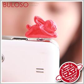 《不囉唆》【A251266】(不挑色) 9色糖果兔防塵塞 耳機塞 保護塞 Iphone HTC 三星 3.5mm適用