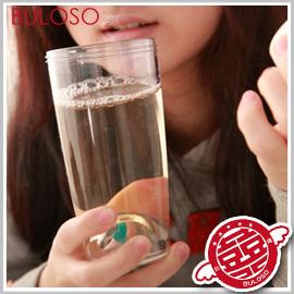 《不囉唆》創意3色手提隨攜豆苗溫室杯 造型水瓶 隨身水壺 300ml(不挑色/款)【A258579】