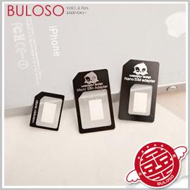 《不囉唆》【A272704】(不挑款) sim還原卡 iphone 5 iPhone 4 4S Nano SIM Micro SIM 轉接卡延伸卡 轉接卡 小卡變大卡