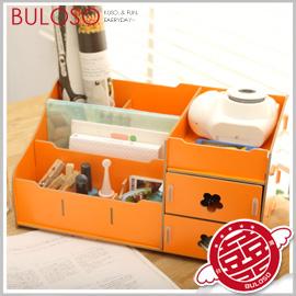 《不囉唆》【A279208】(不挑款)4色大號DIY木質首飾收納盒M30 桌面抽屜首飾盒