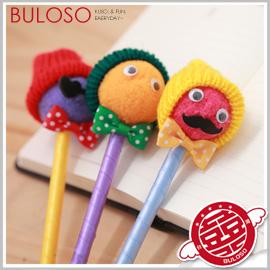 《不囉唆》【A283465】(不挑款) 4款i-neu毛帽原子筆 造型筆 圓珠筆