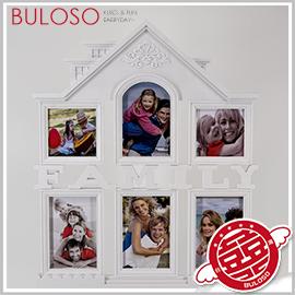 《不囉唆》Family-小房子6相框 相框/相片/像框/照片/照片收納/回憶【A298278】