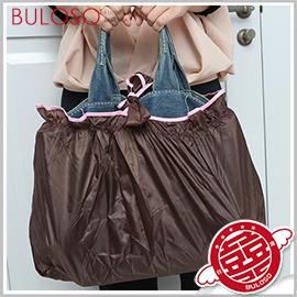 《不囉唆》防雨包外包購物包兩用 旅行/雜物/防水/整理袋/便攜帶/包包雨衣【A298629】