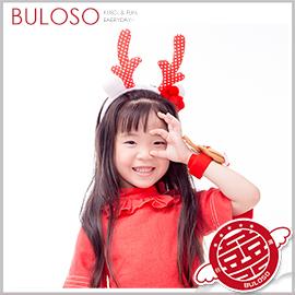 《不囉唆》聖誕裝飾卡通頭箍兩件套 聖誕節/髮飾/髮箍/麋鹿/聖誕裝飾(可挑色/款)【A407328】