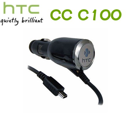 HTC CC C100 原廠車充線~(裸裝)適用:Touch P3450/Color P3452/Touch2 T3333/3G T3232/TYTN2 P4550