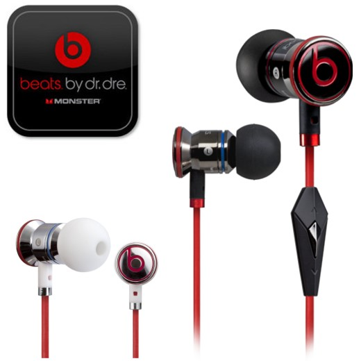 【iBeats by dr.dre原廠耳機】魔聲MONSTER ibeats by dr. dre 立體聲耳機For:iPhone 5/4S/3GS/iPod/iPad...
