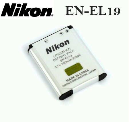【現貨供應】Nikon EN-EL19 ENEL19 原廠數位相機電池for:Nikon Coolpix S2500/S2600/S3100/S3300/S4100/S4150