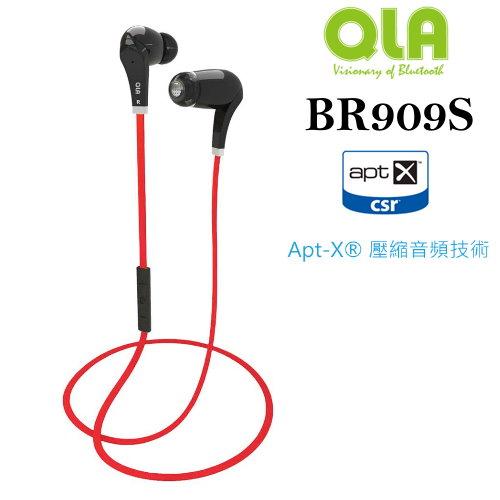 【PC-BOX】QLA BR909S/RockWay  A2DP立體聲芽耳機~雙待機/iPhone 電量顯示